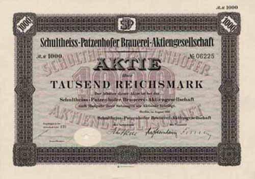 Schultheiss-Patzenhofer Brauerei-AG