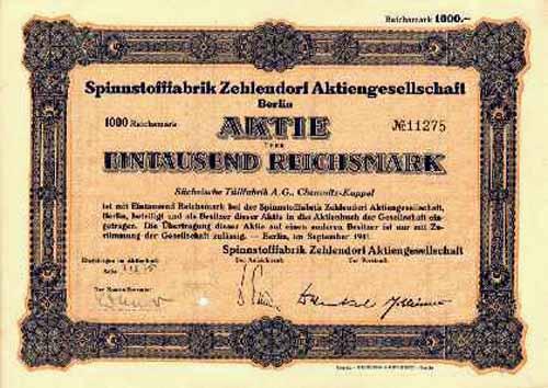 Spinnstofffabrik Zehlendorf