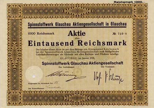 Spinnstoffwerk Glauchau