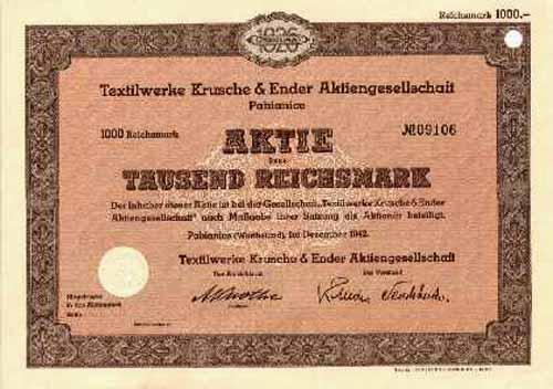 Textilwerke Krusche & Ender