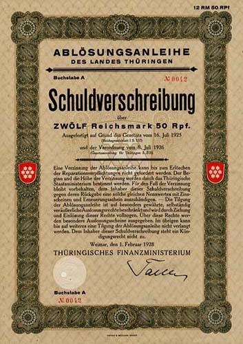 Land Thüringen