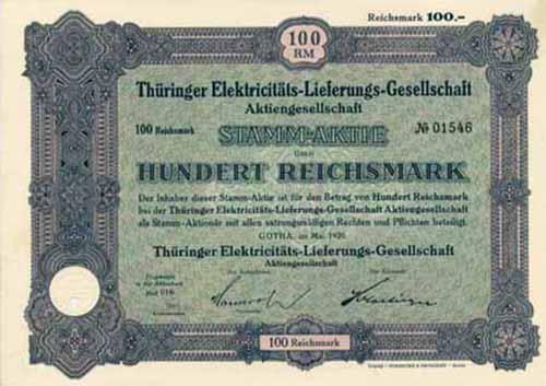 Thüringer Elektricitäts-Lieferungs-Gesellschaft