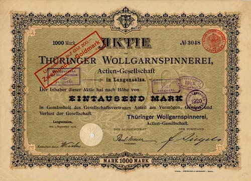 Thüringer Wollgarnspinnerei