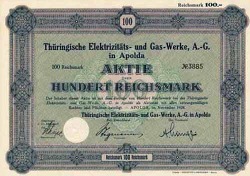 Thüringische Elektrizitäts- und Gas-Werke