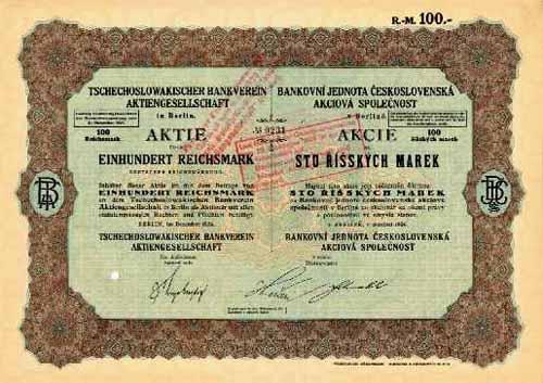 Tschechoslowakischer Bankverein
