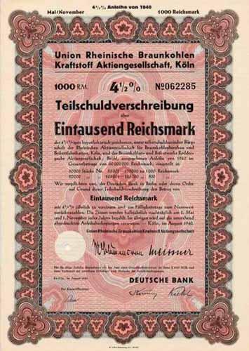 Union Rheinische Braunkohlen Kraftstoff