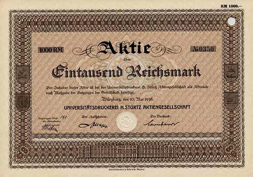 Universitätsdruckerei H. Stürtz