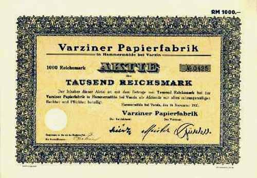 Varziner Papierfabrik