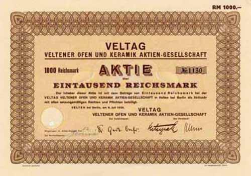 VELTAG Veltener Ofen und Keramik
