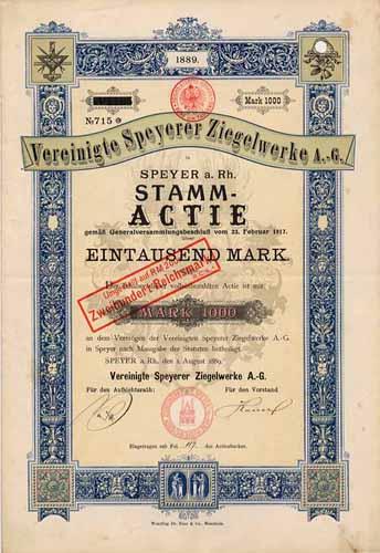 Vereinigte Speyerer Ziegelwerke