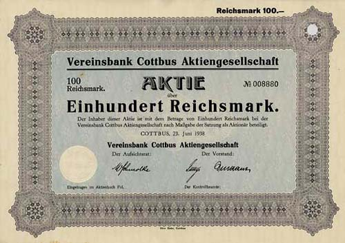 Vereinsbank Cottbus
