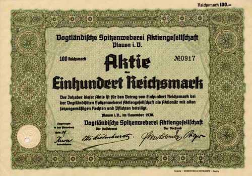 Vogtländische Spitzenweberei