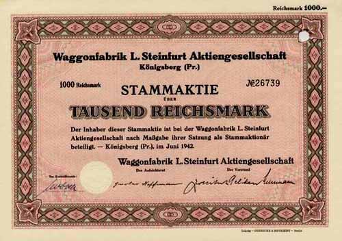 Waggonfabrik L. Steinfurt