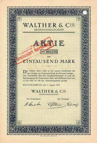 Walther & Cie