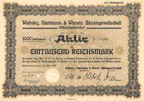Websky, Hartmann & Wiesen