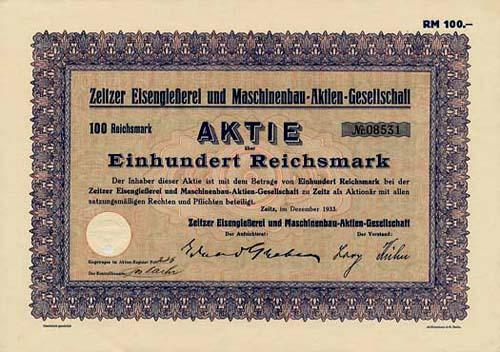 Zeitzer Eisengießerei und Maschinenbau-AG