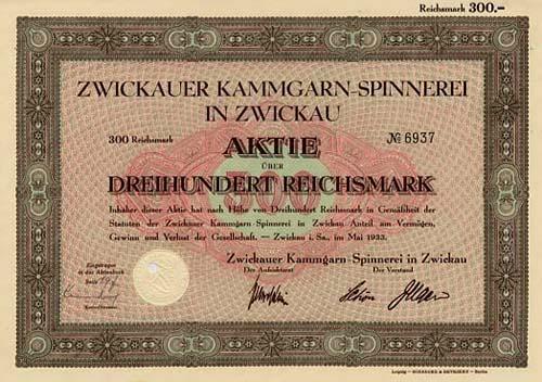 Zwickauer Kammgarn-Spinnerei