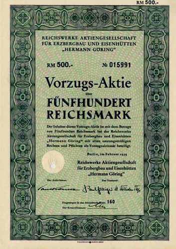 Reichswerke für Erzbergbau und Eisenhütten