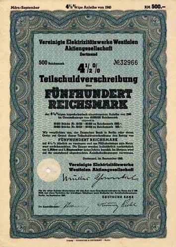 Vereinigte Elektrizitätswerke Westfalen