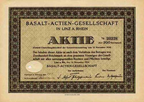 Basalt-AG