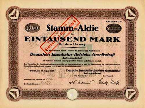 Deutsche Eisenbahn-Betriebs-Gesellschaft