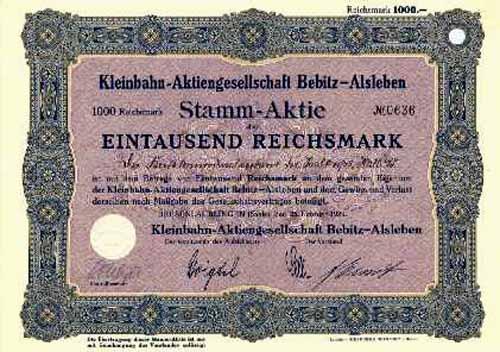 Kleinbahn-AG Bebitz-Alsleben