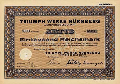 Triumph Werke Nürnberg