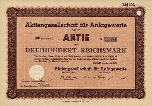 AG für Anlagewerte