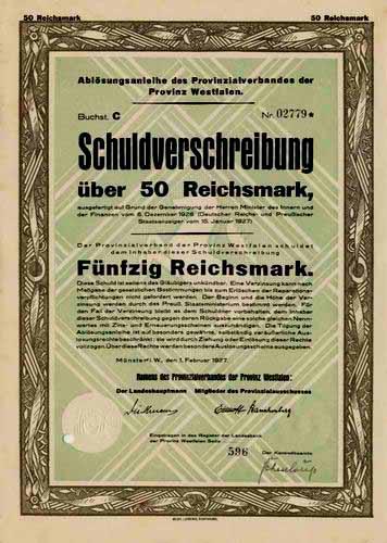 Provinzialverband der Provinz Westfalen