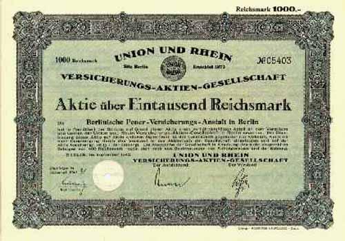 Union und Rhein Versicherungs-AG