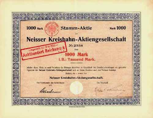 Neisser Kreisbahn-AG