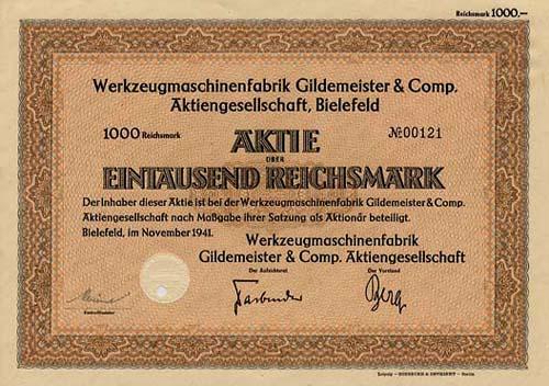 Werkzeugmaschinenfabrik Gildemeister & Comp.