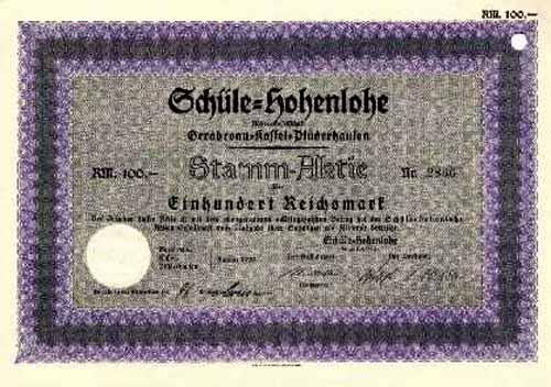Schüle-Hohenlohe