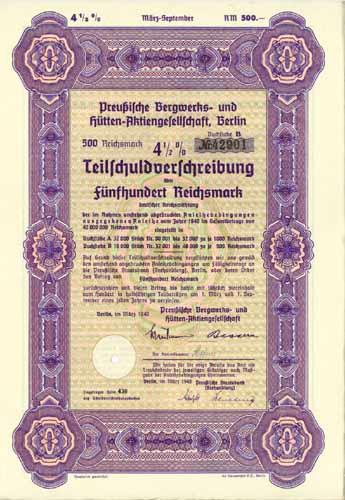 Preußische Bergwerks- und Hütten-AG
