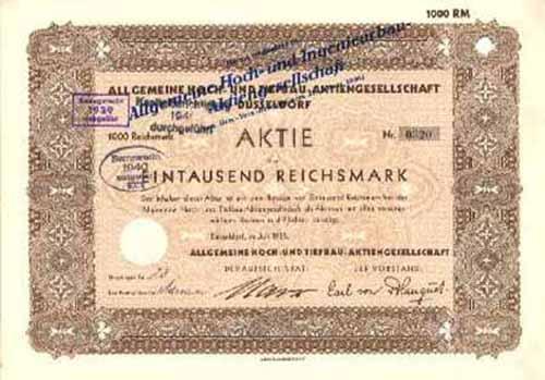 Allgemeine Hoch- und Tiefbau-AG (Allgemeine Hoch- und Ingenieurbau-AG)