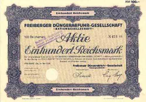 Freiberger Düngerabfuhr-Gesellschaft