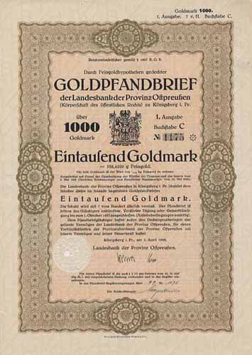 Landesbank der Provinz Ostpreußen