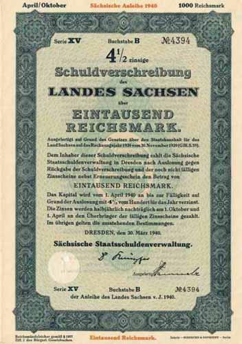 Land Sachsen