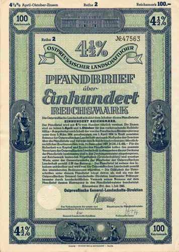 Ostpreußische General-Landschafts-Direktion