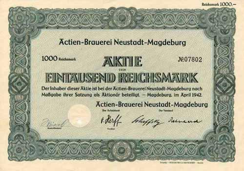 Actien-Brauerei Neustadt-Magdeburg
