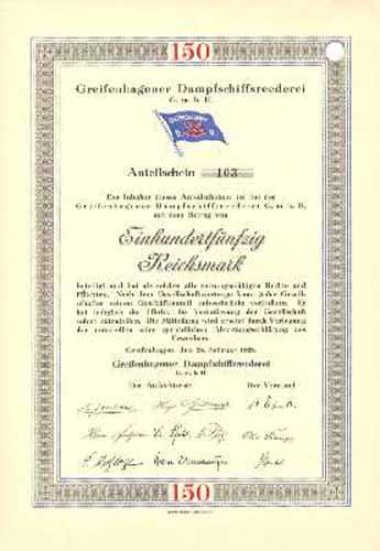 Greifenhagener Dampfschiffsreederei GmbH