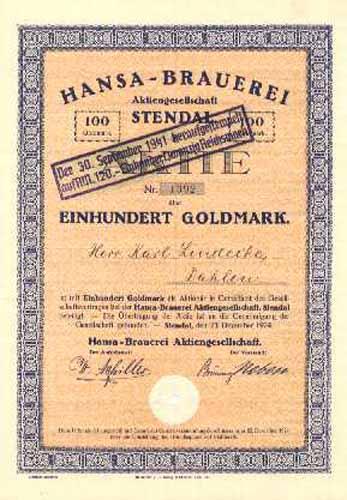 Hansa-Brauerei