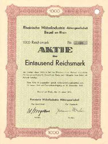 Rheinische Möbelindustrie