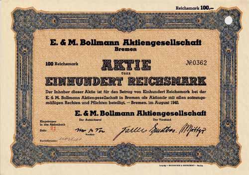 E. & M. Bollmann