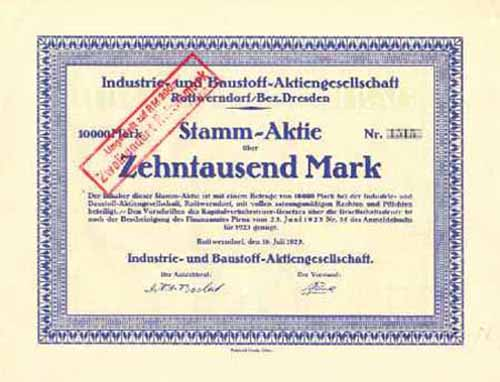 Industrie- und Baustoff-AG