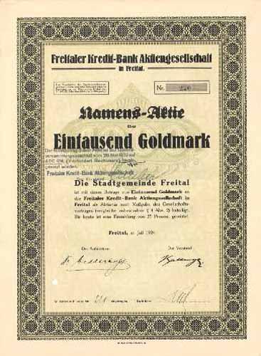 Freitaler Kredit-Bank