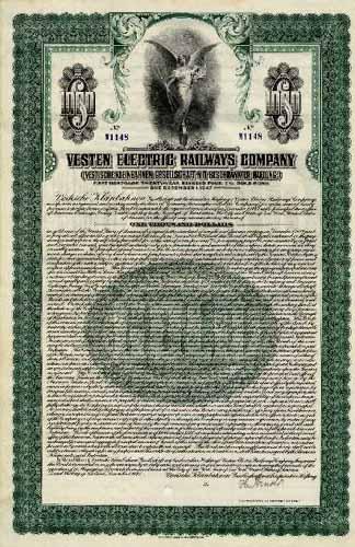 Vestische Kleinbahnen (Vesten Electric Railways Company)