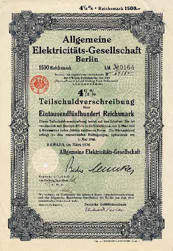 Allgemeine Elektricitäts-Gesellschaft