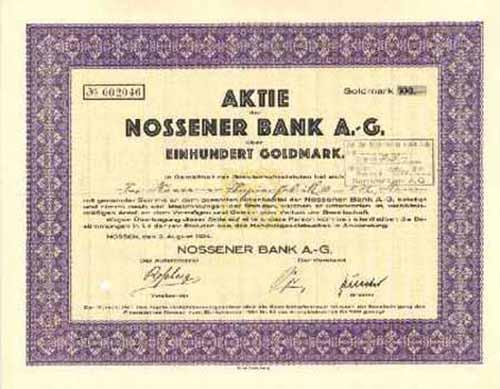 Nossener Bank
