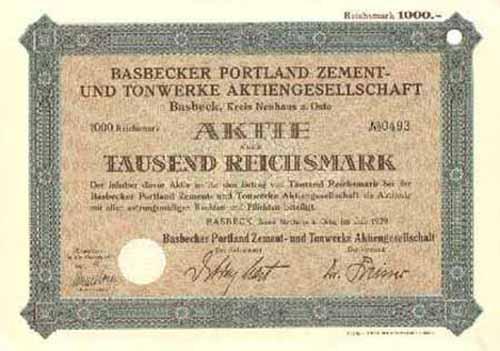 Basbecker Portland Zement- und Tonwerke
